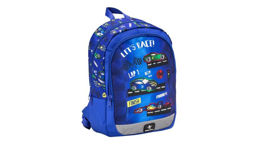 BELMIL Vorschulrucksack KIDDY Bag Let s Race