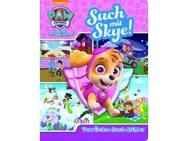 Such mit Skye Verrueckte Such Bilder PAW Patrol Wimmelbuch mit lustigen Lernspielen