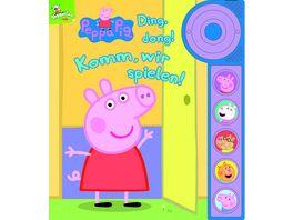 Peppa Pig Ding dong Komm wir spielen Soundbuch