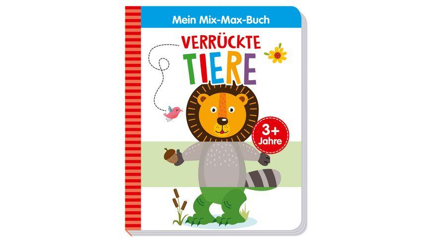 Mein Mix Max Buch Verrueckte Tiere
