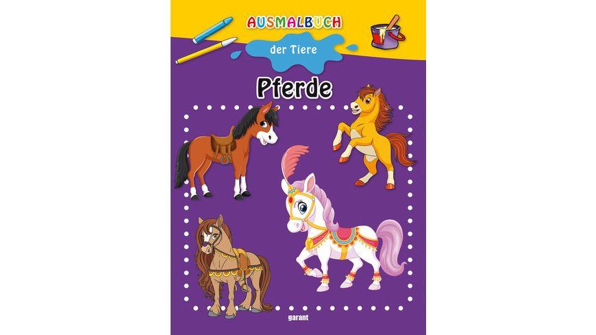 Ausmalbuch Pferde Viele tolle Pferde Motive