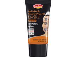 Schaebens Aktivkohle Strong Peel Off Maske