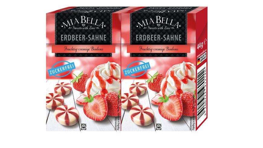 MIA BELLA Bonbons Swirl Erdbeer Sahne