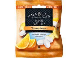 MIA BELLA Frische Pastillen Orange Ingwer