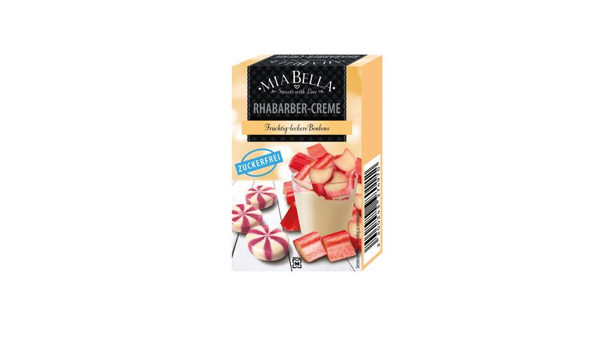MIA BELLA Bonbons Swirl Rhabarber Creme