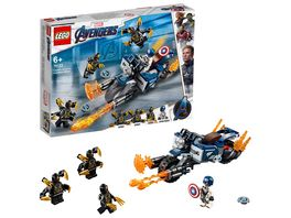 LEGO Marvel Super Heroes 76123 Captain America Outrider Attacke