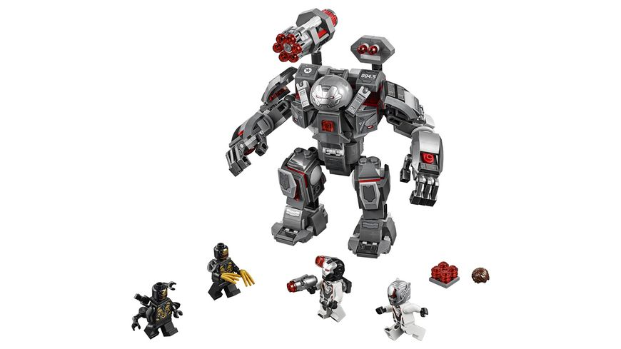 LEGO Marvel Super Heroes 76124 War Machine Buster