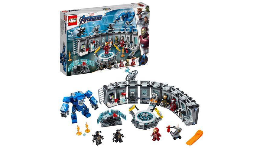 LEGO Marvel Super Heroes 76125 Iron Mans Werkstatt
