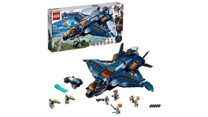 LEGO Marvel Super Heroes 76126 Ultimativer Avengers Quinjet