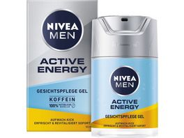 NIVEA MEN Active Energy Gesichtspflege Gel