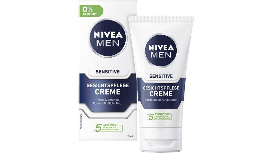 NIVEA MEN Gesichtspflege Creme Sensitive
