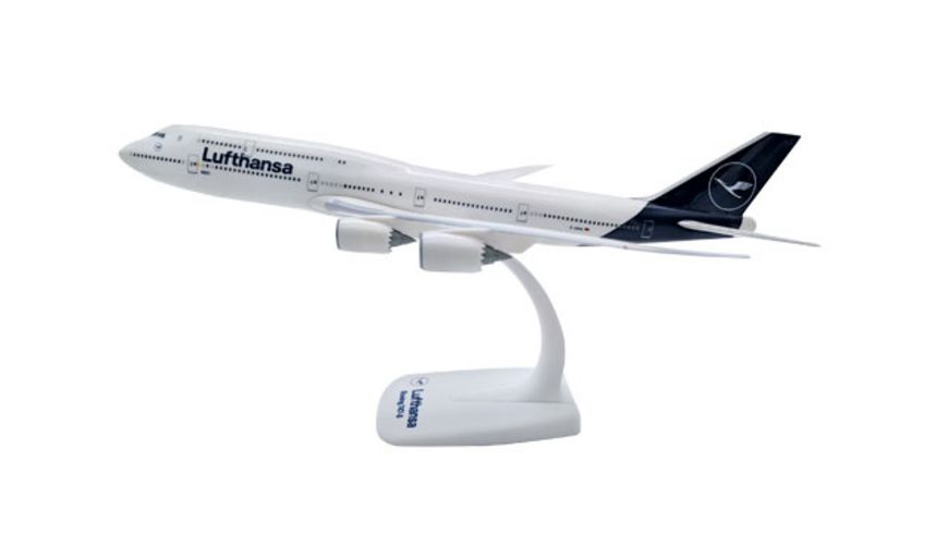 Herpa 611930 Snap Fit Lufthansa Boeing 747 8 Intercontinental