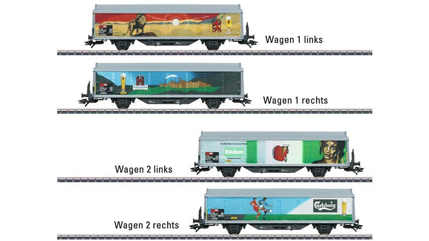 Maerklin 48342 Schiebewandwagen Set