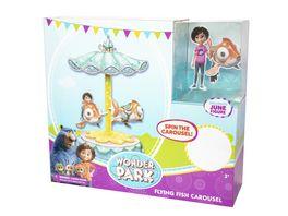 Joy Toy Willkommen im Wunderpark Wonderpark fliegende Fische Karusell