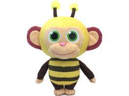 Joy Toy Willkommen im Wunderpark Wonderpark Bee 36 cm Pluesch mit Zuckerwattenduft