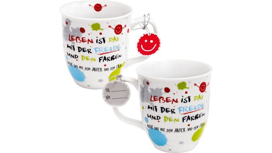 sheepworld Happylife Tasse Freude