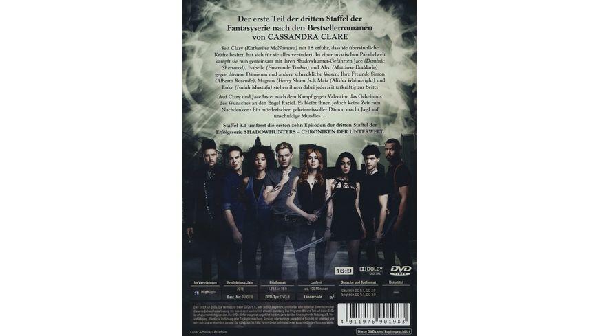 Shadowhunters Staffel 3 1 3 DVDs