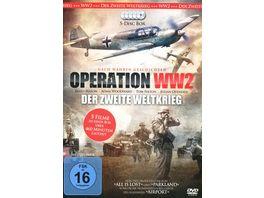 Operation WW II Der Zweite Weltkrieg 5 DVDs