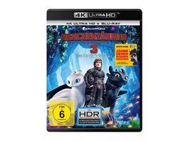 Drachenzaehmen leicht gemacht 3 Die geheime Welt 4K Ultra HD Blu ray 2D