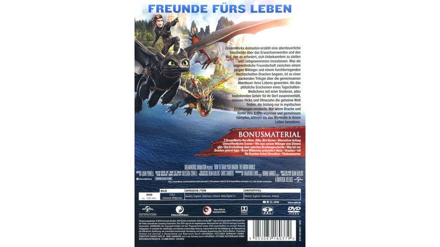 Drachenzaehmen leicht gemacht 3 Die geheime Welt DVD