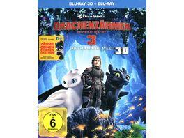 Drachenzaehmen leicht gemacht 3 Die geheime Welt 3D Blu ray Blu ray 2D