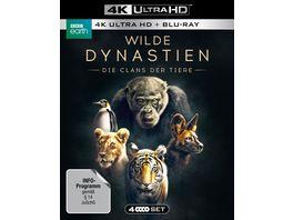 WILDE DYNASTIEN Die Clans der Tiere 4K Ultra HD 2 BR4K 2 BRs