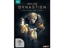 WILDE DYNASTIEN Die Clans der Tiere 2 DVDs