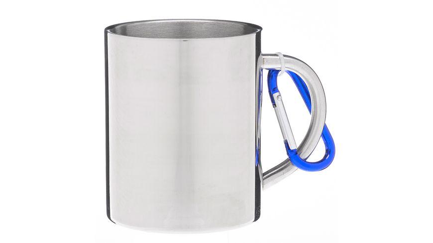 Henkelbecher mit Karabiner Travel Mug