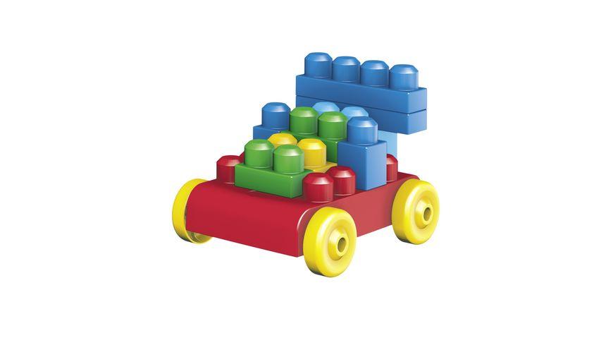 Mattel Mega Bloks First Builders Bausteinebeutel Large 80 Teile Grundfarben