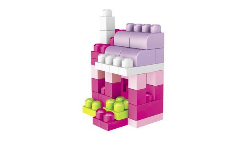Fisher Price Mega Bloks First Builders Bausteinebeutel Large 80 Teile pinkfarben