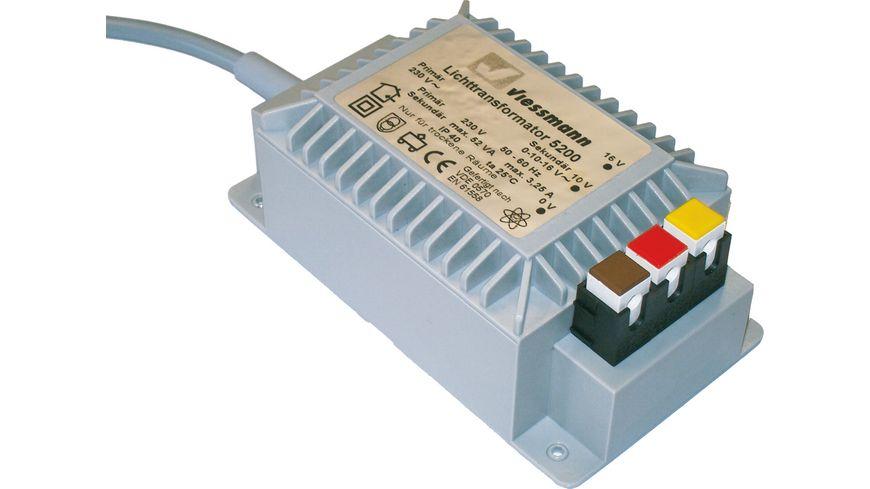 Viessmann 5200 Lichttransformator 16 V 52 VA