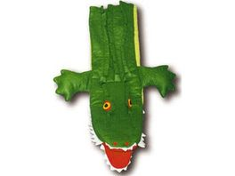 Trullala Krokodil Klapp Handpuppe 40 cm