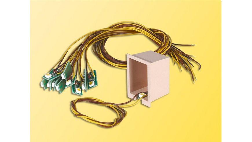 Viessmann Hausbeleuchtung mit 1 LED weiss 10 Stueck