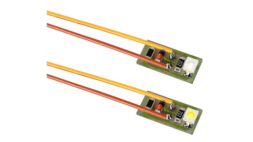 Viessmann 6008 Hausbeleuchtung mit 1 LED weiss 10 Stueck