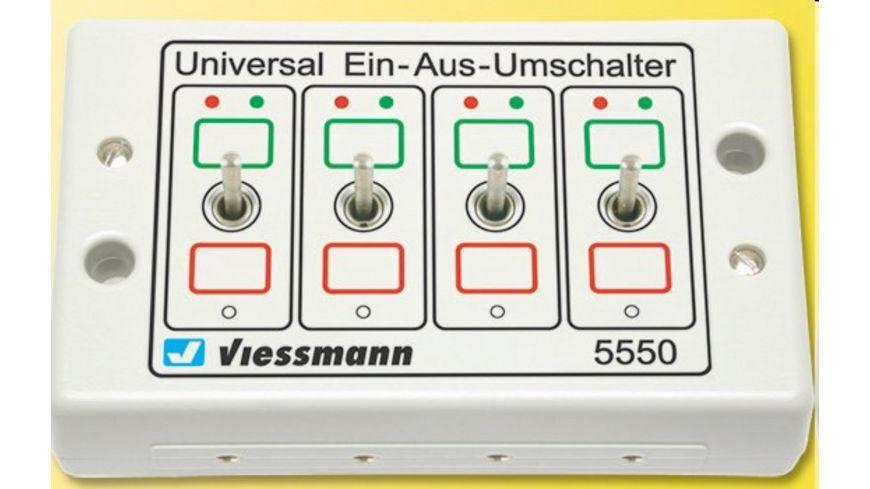 Viessmann 5550 Universal Ein Aus Umschalter
