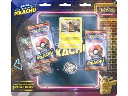 Pokemon Sammelkartenspiel Movie Meisterdetektiv Pikachu Blister