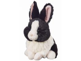Bauer Deine Tiere mit Herz Super Soft Hase schwarz beige sitzend 15cm