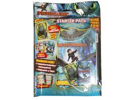 Blue Ocean Dragons Drachenzaehmen leicht gemacht 3 Die geheime Welt Sammelkarten Starter Pack