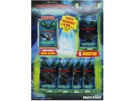 Blue Ocean Dragons Drachenzaehmen leicht gemacht 3 Die geheime Welt Sammelkarten Multipack 5 Booster 1 limitierte Karte
