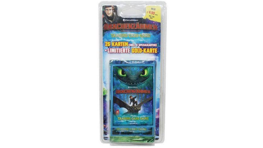 Blue Ocean Dragons Drachenzaehmen leicht gemacht 3 Die geheime Welt Sammelkarten Blisterpack 5 Booster 1 limitierte Karte