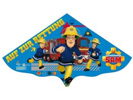 Guenther Flugmodelle Kinderdrachen Feuerwehrmann SAM