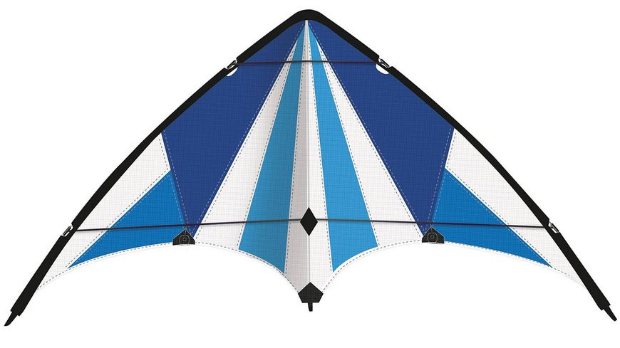 Guenther Flugmodelle Sportlenkdrachen BLUE LOOP