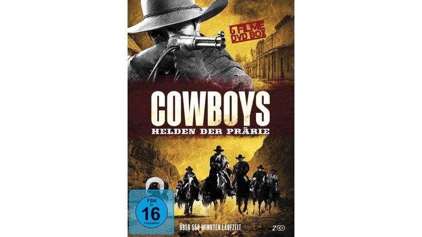 Cowboys Helden der Praerie 2 DVDs