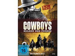 Cowboys Helden der Praerie 2 DVDs