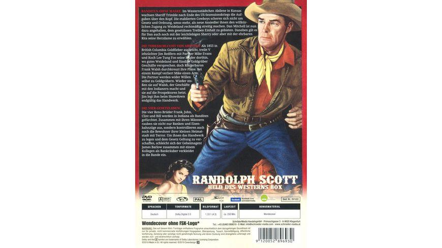 Randolph Scott Held des Westerns Box