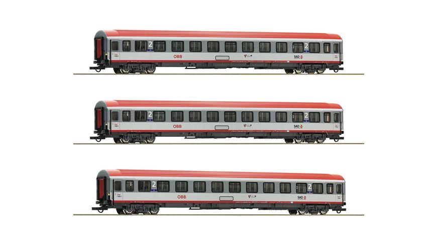 Roco 74132 3 tlg Set Regionalexpress Innsbruck Bozen OeBB