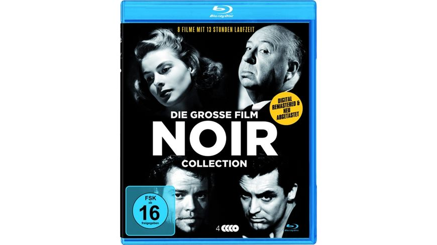 Die grosse Film Noir Deluxe Collection 4 BRs