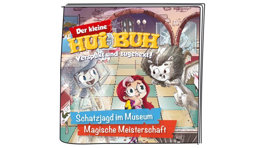 tonies Hoerfigur fuer die Toniebox Der kleine Hui Buh Schatzjagd im Museum Magische Meisterschaft