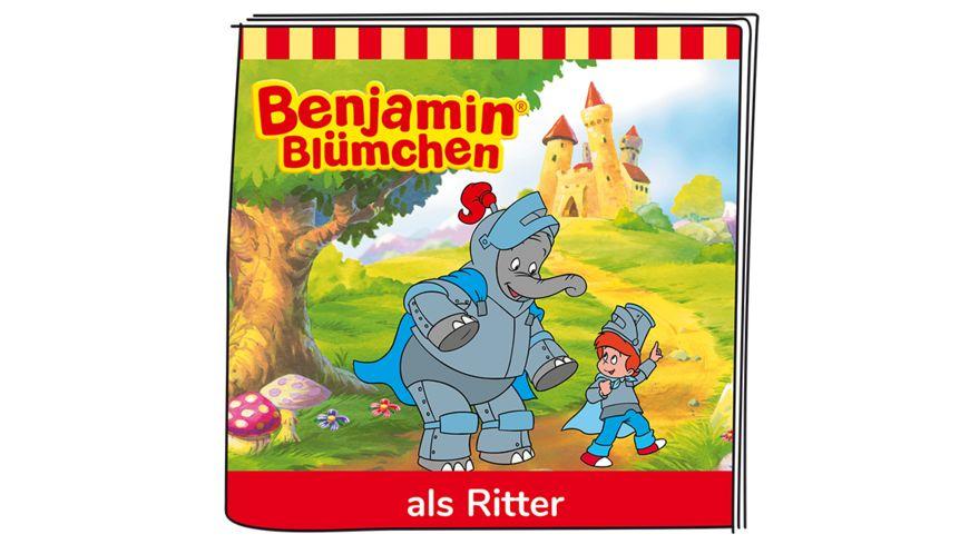 tonies Hoerfigur fuer die Toniebox Benjamin Bluemchen als Ritter