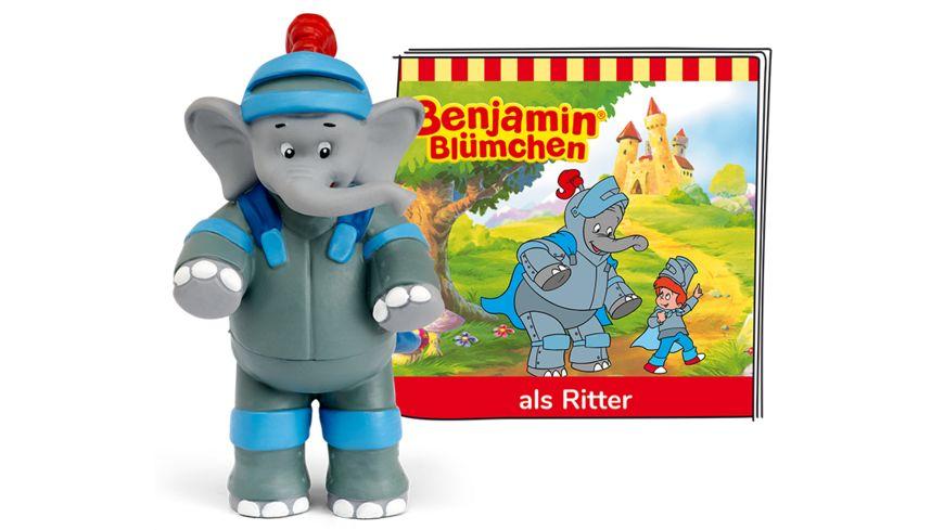tonies - Hörfigur für die Toniebox: Benjamin Blümchen - ... als Ritter